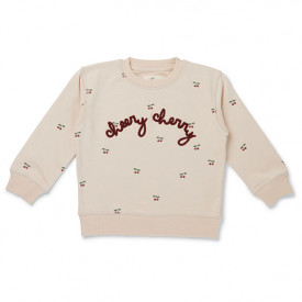 Lou Sweatshirt - Cherry/Blush Pink Konges Sløjd