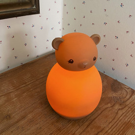 Silicone LED Lamp - Teddy Brown Konges Sløjd