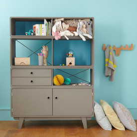 Bookcase Enigme - 2 Colors to choose Multicolour Laurette