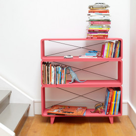 Bookcase Millefeuille - Color to choose Multicolour Laurette