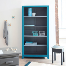 Bookcase Parisienne - 2 Colors to choose Multicolour Laurette