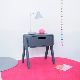 Night Table Little Robot - Color to choose Multicolour Laurette