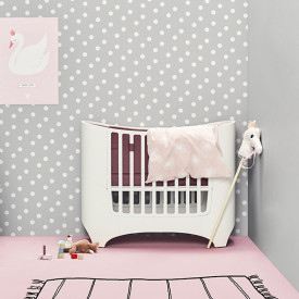 Baby Cot 0-3 years - White White Leander