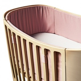 Bumper bed for Classic cot - Soft Pink Pink Leander