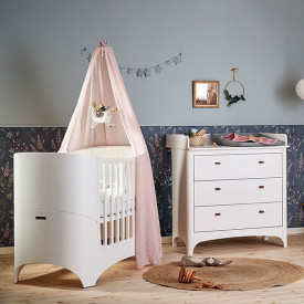 Leander Classic Canopy - Dusty Rose Pink Leander