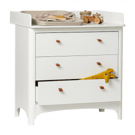 Changing Station for Classic Dresser - White White Leander