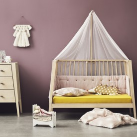 Canopy Stick for Linea Baby Cot - Oak Nature Leander