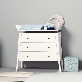 Linea Changing Unit - White White Leander
