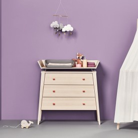 Linea 3 Drawer Dresser - Beech Nature Leander