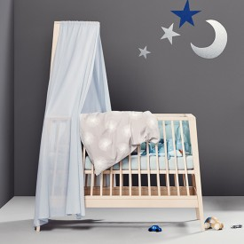 Canopy Stick for Linea Baby Cot - Beech Nature Leander