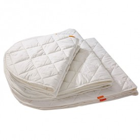 Top baby bed mattress White Leander