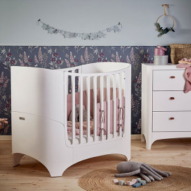 Bumper for Classic Cot - Dusty Rose Pink Leander