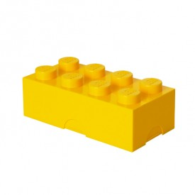 Lunch Box LEGO® Brick - Yellow Yellow Lego