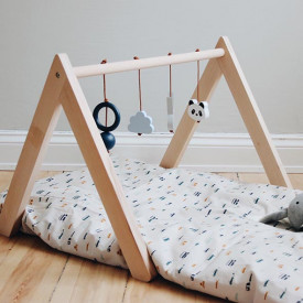 Wooden Play Gym - Mix Blue  Nature Liewood