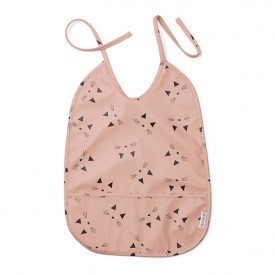 Lai Bib - Cat Rose Pink Liewood