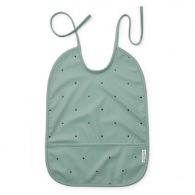 Lai Bib - Dot Peppermint Green Liewood