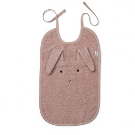 Terry Bib Rabbit - Rose  Pink Liewood