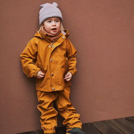Dakota Rainwear - Mustard  Yellow Liewood