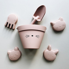 Silicone Beach Set Dante - Cat Rose Pink Liewood