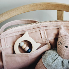 Wooden Teether - Cat Nature Liewood