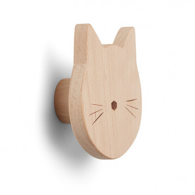 Ida Wooden Knob - Cat Nature Liewood