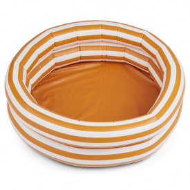 Leonore Pool - Stripes Mustard/Creme Yellow Liewood