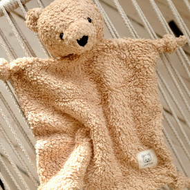 Lotte Cuddle Cloth - Bear Beige Beige Liewood