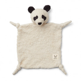 Lotte Cuddle Cloth - Panda Creme White Liewood