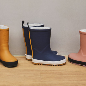 Mason Thermo Boots - Navy/Creme Blue Liewood