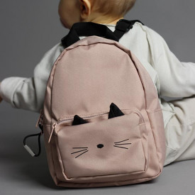 Mini Backpack - Cat Rose Pink Liewood