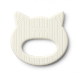 Silicone Teether Cat - Crème White Liewood