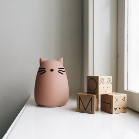 Night Light - Cat Rose Pink Liewood