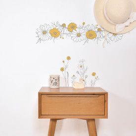 Wallstickers Chamomile (A3) Multicolour Lilipinso