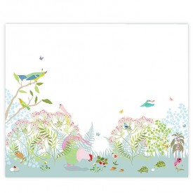 Walldecor Botanic - Pink Multicolour Little Cabari