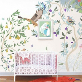 Walldecor Verger Multicolour Little Cabari