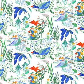 Wallpaper Lucioles Multicolour Little Cabari