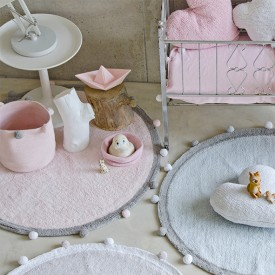 Bubbly Rug 120cm - Soft Pink  Pink Lorena Canals