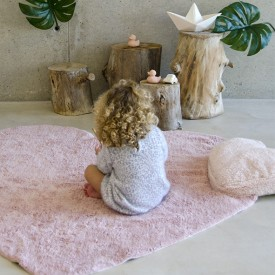 Puffy Rug 160 x 180cm - Love nude Pink Lorena Canals