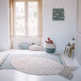 The Sea Rug 110 x 180 cm - Big Fish Beige Lorena Canals