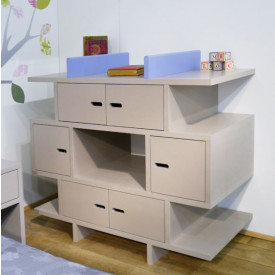 Chest of drawers / Library Multicolour Madaket - Madavin
