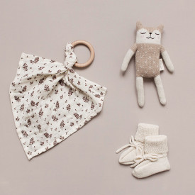 Fawn Soft Toy - Sand/White Beige Main Sauvage