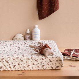 Changing Mat Cover - Meadow Purple Main Sauvage