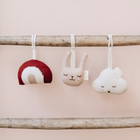 Hanging Toy - Cloud White Main Sauvage