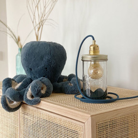 Lamp Blue Grey - Basile Blue Ma Lumineuse