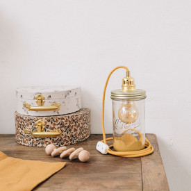 Lamp Mustard - Jeanne Yellow Ma Lumineuse