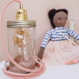 Lamp Peach - Juliette Pink Ma Lumineuse