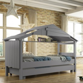 Star Treehouse Bed Multicolour Mathy by Bols