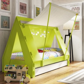 Tent bed White Mathy by Bols