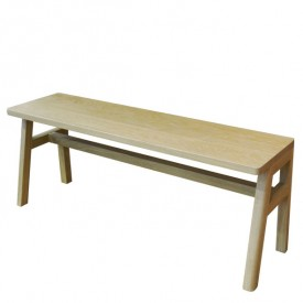 Vessel Bench - Oak Nature Mathy by Bols