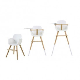 Set of Chair legs - OVO High Chair Extension - White White Micuna